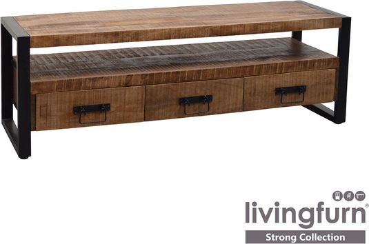 Tv Kast Strong 150 Cm Hout Metaal Strong Lilnl
